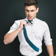 "Premier PR750 ""Colours"" - Satin Tie"
