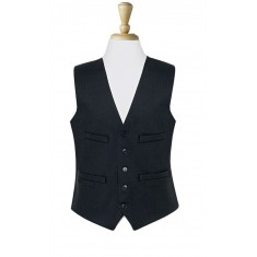 Brook Taverner Mix & Match Collection 1081D Black Waistcoat