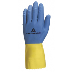 Delta Plus Duocolor VE330 Latex Cleaning Glove