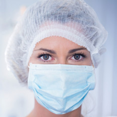 GranberG Surgical Face Masks Non-woven polypropylene, Type IIR (Box of 50)