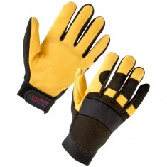 Supertouch 24342 Leather Mechanic Gloves