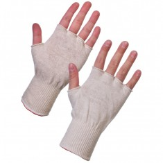 Supertouch 252W Polycotton Fingerless Glove Stockinet Liner (Pack of 260)