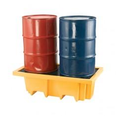 JSP PTT720-000-800 2 Drum Pallet Sump with Grating
