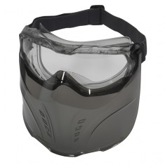 JSP Swiss One Safety Stone™ 2STONEV23C  Anti-scratch Anti-fog Goggle with 5FIGVIS Visor (Pack of 5)