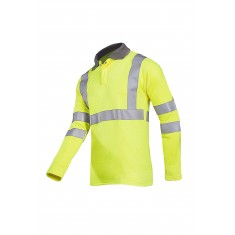 Sioen Sio-Fit 3142A2MVC Flame Retardant AST High-Vis Polo Shirt