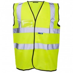 Supertouch 3324 Hi Vis Vest with ID Pocket