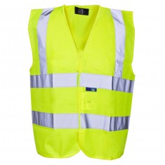 Supertouch 34741 Hi Vis Builders Short Vest