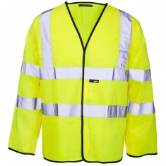 Supertouch 374 Hi Vis Velcro Long Sleeved Vest
