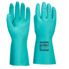Portwest A812 Nitrosafe Plus Chemical Gauntlet Green