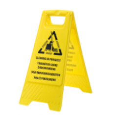 Portwest HV22 Euro Cleaning In Progress Sign