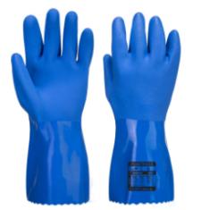 Portwest A881 Marine Ultra PVC Chem Gauntlet Blue