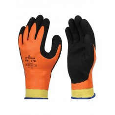 Showa 406 Insulated & Durable Latex Grip Glove (Pack of 5)