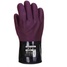 Portwest AP90 Chemtherm Glove Purple/Black