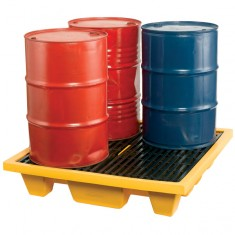 JSP PTT730-000-800 4 Drum Pallet Sump with Grating