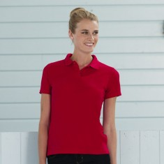 Russell 539F Women's 65/35 Poly/Cotton Short Sleeve Polo
