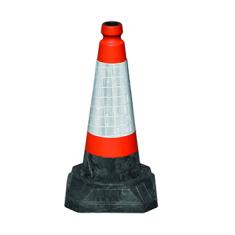 JSP JBG049-200-600 50cm RoadHog™ 1150 Cone with Sealbrite™ Sleeve (Pack of 10)
