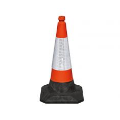 JSP JBG069-200-600 75cm RoadHog™ 1175 Cone with Sealbrite™ Sleeve (Pack of 10)