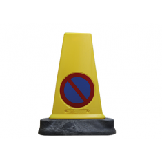 JSP JBN081-140-200 Mk™5 Reflective two-piece 'No Waiting' cone (Pack of 10)