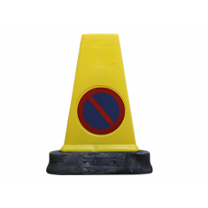 JSP JBB081-140-200 Mk™4 Reflective two-piece 'No Waiting' cone (Pack of 10)
