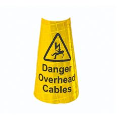 JSP JUB075-200-000 Yellow sleeve for 1m Dominator™ - Overhead Cables (Pack of 50)