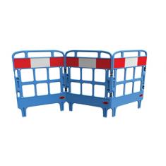 JSP KBT023-000-500 Portagate® 3 Gate Compact Barrier - Blue