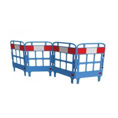 JSP KBU023-000-500 Portagate® 4 Gate Compact Barrier - Blue