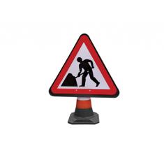 JSP HCA010-301-100 PortaCone  Roadworks Sign (Pack of 5)