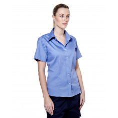 Uneek UC704 Ladies Pinpoint Oxford Short Sleeve Shirt