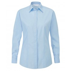 Disley BL903 Fly Front Women's Long Sleeve Blouse