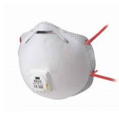 3M 8833 Soft Seal Cup-Shaped Particulate Respirator (Pack of 10)