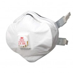 3M 8835 Buckle Strap Particulate FFP3 Respirator (Pack of 5)