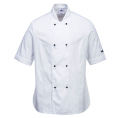 Portwest C737 Rachel Ladies Short Sleeve Chefs Jacket