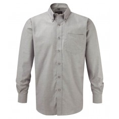 Russell Collection 932M Oxford Long Sleeve Shirt - Size 15.5