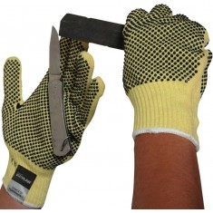 Beeswift KGMWD Kevlar Mediumweight Dotted Glove (Pack of 10)