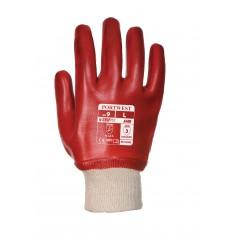 Portwest A400 PVC Knitwrist Glove