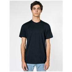 American Apparel AA002 Unisex Poly/Cotton Short Sleeve Crew Neck T Shirt
