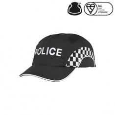 JSP ABR000-001-19T Hardcap A1+ 7cm Long Peak - Police Curved Check (Pack of 20)