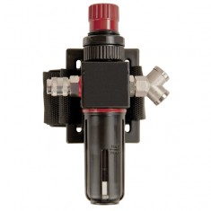 JSP G-N-AF-W-R-CF-Y Waistbelt c/w Carbon cartridge, Air Flow Regulator,Q/R Connector, Y Piece