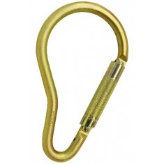Steel pear hook twist lock 50mm opening