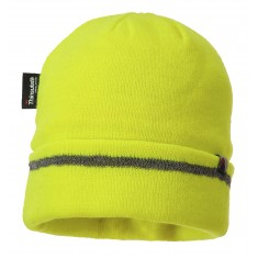 Portwest B023 Reflective Thinsulate Lined Trim Knit Hat