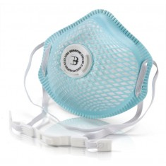 Beeswift BBMMP2VD B-Brand P2V Mesh Cup Mask (Pack of 10)