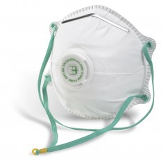 Beeswift BBP1V P1 Valved Disposable Masks (Pack of 10)