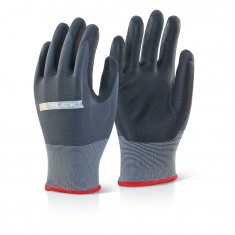 Beeswift BF1 Nitrile PU Mix Coated Glove (Pack of 100)