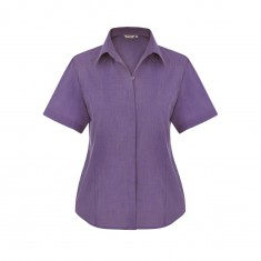 Disley EDIE End on End Women's Short Sleeve Blouse