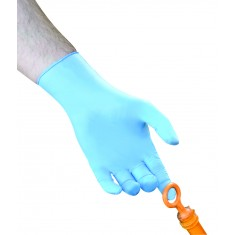 Polyco GL895 Bodyguards 4 Blue Nitrile Powder Free Glove (Box of 100 Pairs)