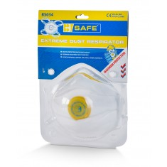 Beeswift BS034 Pre Pack P3 Valved Disposable Masks