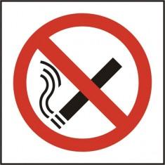 Beeswift BSS11840 Self Adhesive Vinyl 'No Smoking' Symbol Safety Sign (Pack of 5)