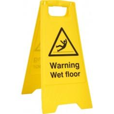 Beeswift BSS4702 'Warning Wet Floor' A-Board
