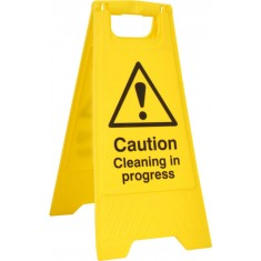 Beeswift BSS4703 'Caution Cleaning in Progress' A-Board
