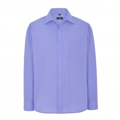 Disley C01CC End on End Cutaway Collar Men's Long Sleeve Shirt